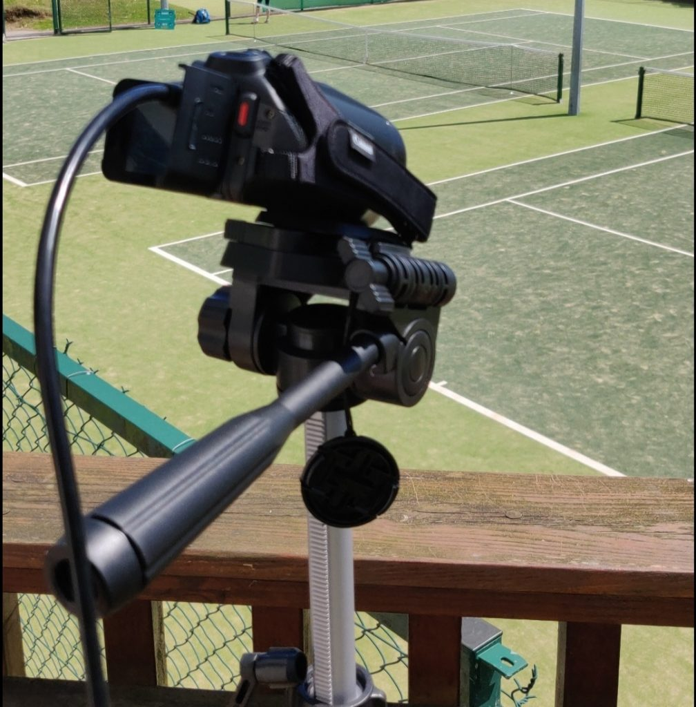 Relivvit Camera Live Streaming Munster Tennis Winter League Finals
