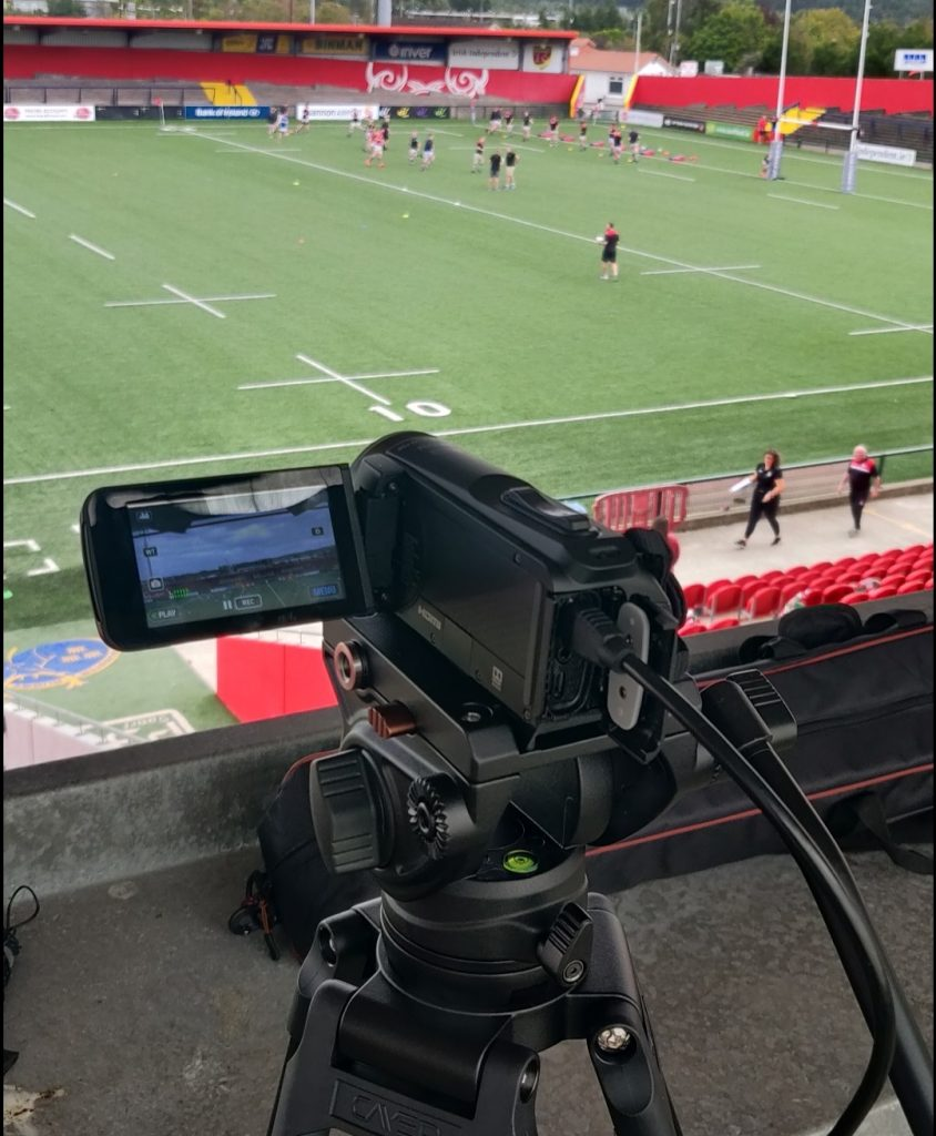 Relivvit Live Streaming Camera at Irish Independent Park, Cork.